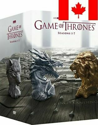 Game of Thrones: Seasons 1-7 DVD Seasons 1 2 3 4 5 6 7
