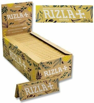 Rizla Natura Organic Single Easy Smoking Cigarette Tobacco Rolling Papers Packs
