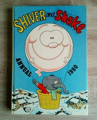 Shiver And Shake Vintage Comic Book Annual 1980