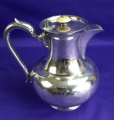 Vintage Walker & Hall Sheffield Silver Plated 1.5pt Lidded Coffee Pot
