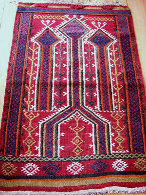 Gebets  Kelim   Konya - Prayer  Kilim  From  Konya  Region   : Antik
