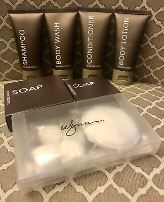 Wynn Resorts Travel Size Toiletries Set Of 7- NEW L@@K!!!!