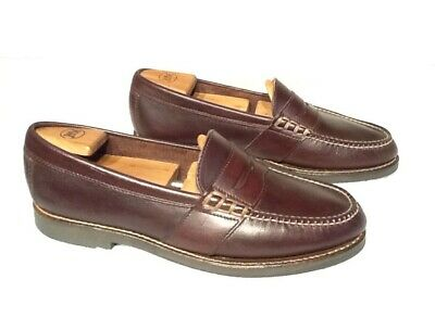 ce201cb528a Ralph Lauren Polo Sport Penny Loafer Brown Leather AAM15281 Men s Size 10.5  D