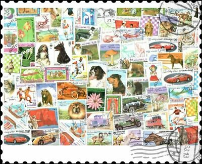 Afghanistan : 100 Different Stamps Collection