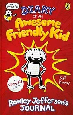 Diary of an Awesome Friendly Kid: Rowley Jefferson's Journal (Diary of a Wimpy K