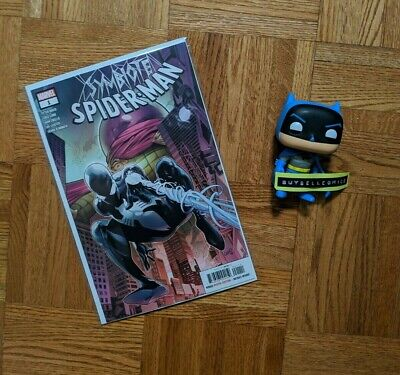 SYMBIOTE SPIDER-MAN #1 Regular Greg Land Cover A Marvel 2019 NM IN HAND