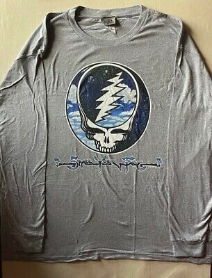 Grateful Dead-Steal Your Sky & Space-Syf- Long Sleeve Tshirt  3X, 4X, 5X, 6X