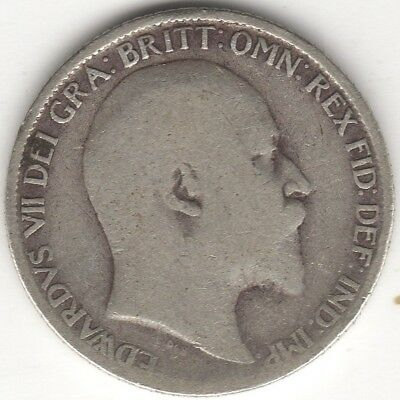 1908 Edward VII Silver Sixpence | British Coins | Pennies2Pounds
