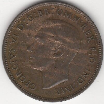 1937 George VI One Penny   Pennies2Pounds
