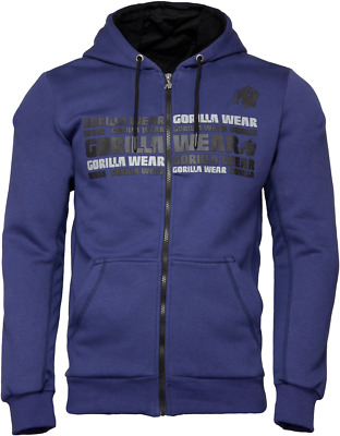 Gorilla Wear Bowie Mesh Zipped Hoodie NEW ARRIVAL