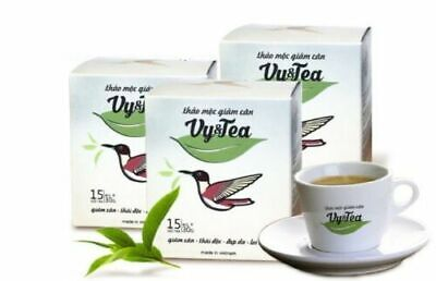 3 BOXES - Vy and Tea Natural Herbal Tea Weight Loss - Supper Fast Shipping.
