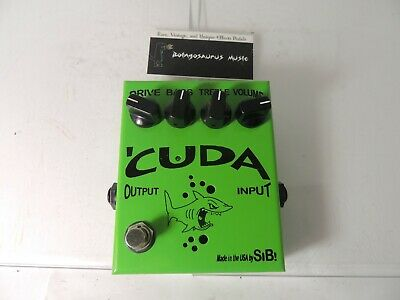Real 12AX7 Pure Class A Distortion SIB Pedals CUDA Overdrive Pedal