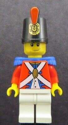 Red plume soldier Pirates Hat Imperial Guard Shako x 5 NEW LEGO Headgear