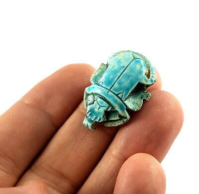 Egypt Scarab Egyptian Necklace Ancient Jewelry Amulet Beetle Figurine Pendant