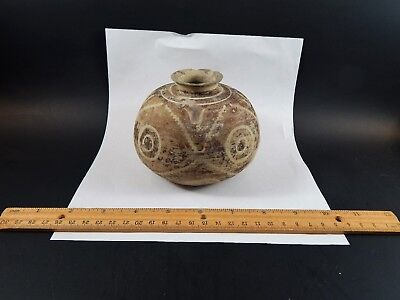Ancient Persian Sumerian Pottery Painted Vessel Late 3rd Millennium B.C. Sialk 2