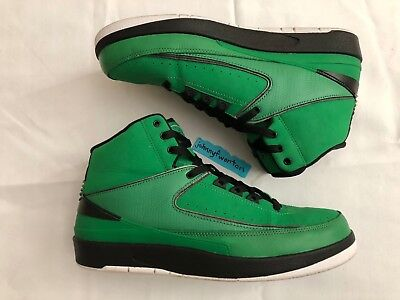 9a1f5161c8e Air Jordan 2 Retro QF Candy Pack Green ii size 10 395709-301 nike  doernbecher