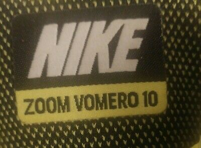 7d6e2fa10578 Men s Size 12 2014 Nike Air Zoom Vomero 10 Running Training Sneakers  717440-700