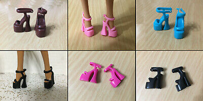 Barbie Doll Model Muse Fashion Fever High Heel Strap Slide Sandal Shoes CHOOSE