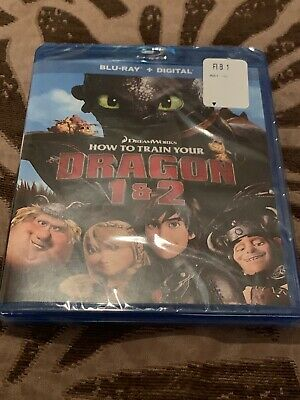 How to Train Your Dragon 1 & 2 [Blu-ray And Digital Code Movies Anywhere