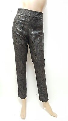 Estelle And Finn New With Tags Pull On Full Length Pant Snake Print Size 8