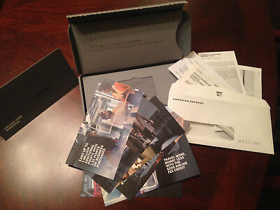 Business American Express Platinum Welcome Package Amex Credit Card