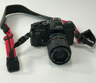 Ricoh KR-5 SUPER II 35mm SLR Camera With 35-70mm Lens (Not Tested)