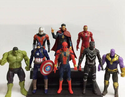 the avengers 8pcs set pvc figure collection anime toy new