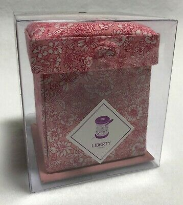 Liberty of London Victorian Sewing Box - Pink Floral
