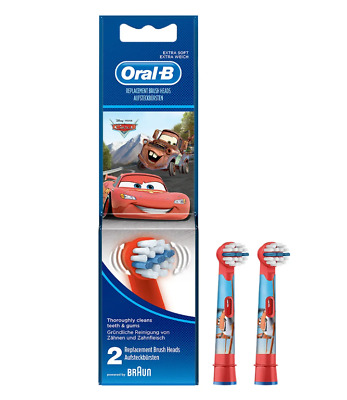 Oral-B Kids Replacement Toothbrush Heads Brand New 2019