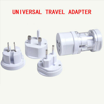 Universal Travel Adapter Wall Charger USB Plug US UK AU EU 4.8*8.6CM Replaces
