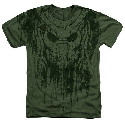 The Predator Movie Apex Presence Officially Licensed Heather Adult T-Shirt
