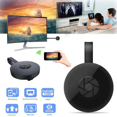 Wireless Receiver HDMI AirPlay DLNA IOS Miracast HD 1080P WiFi Display TV Dongle