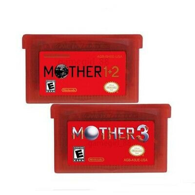 Earthbound Mother 1+2 and 3 Game Boy Advance GBA English Language