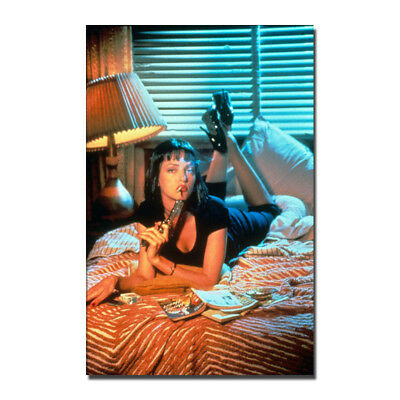 Pulp Fiction 1994 Classic Film Movie Canvas Poster  8X12 12x18 in