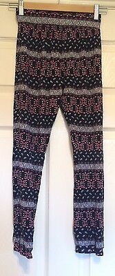 Girls Cuffed Trousers, Age 10-11, New Without Tags