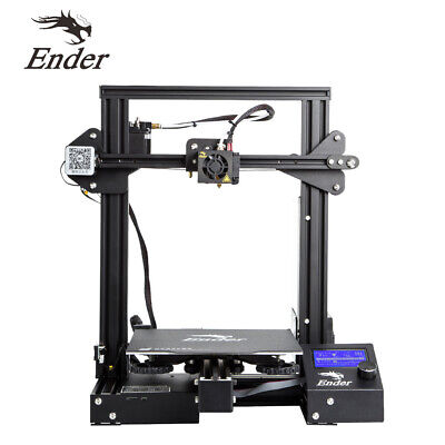 Creality Ender 3 Pro 3D Printer New with Free 1KG Black PLA Filament