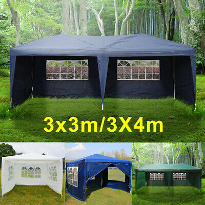 New Party Tent Outdoor PE Garden Gazebo Marquee Canopy Awning With Full Sidewall