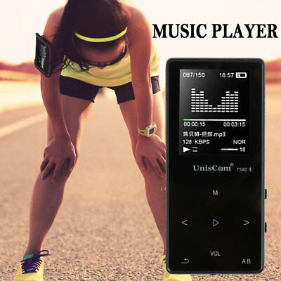 Portable Walkman 8GB / 16GB Bluetooth MP3 MP4 Player Fashion Touch Key Player