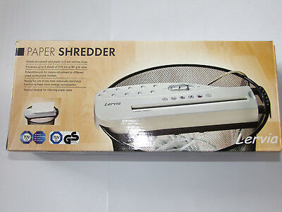 Lervia Electronic Paper Shredder **BRAND NEW IN BOX** Never Used