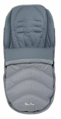 Silver Cross Pram Pursuit Foot Muff Cosy Toes / Quarry Grey New