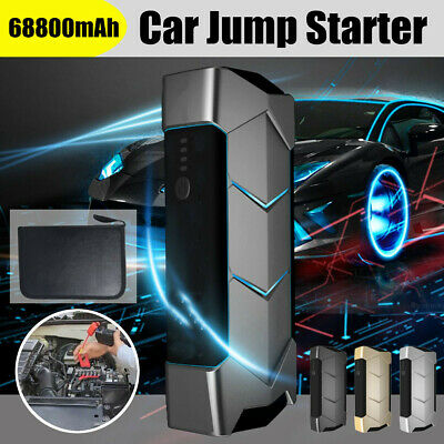 Car Jump Starter Battery Heavy Duty 600AMP USB Power Bank Charger Booster