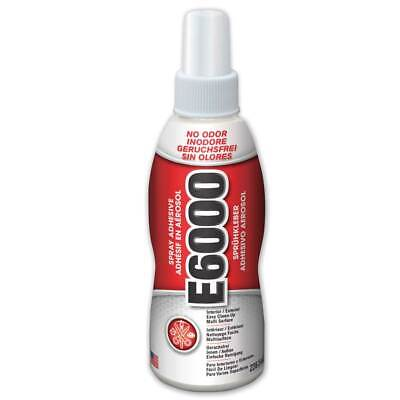 E6000 Spray Glue Adhesive  Clear, Strong, Flexible, Water Resistant, Photo Safe