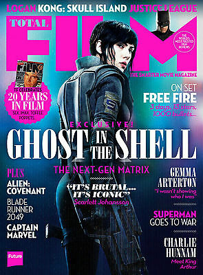 TOTAL FILM Magazine - APRIL 2017 Issue # 256 GHOST IN THE SHELL - LOGAN - ALIEN