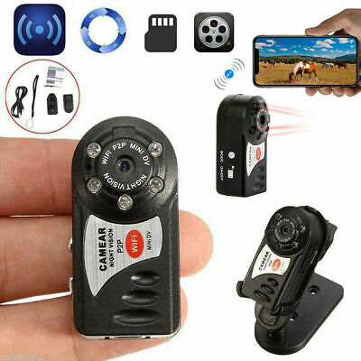 Mini Telecamera Wifi Hd Q7 Slot Micro Sd Camera Spionaggio Con Sensore Movimento