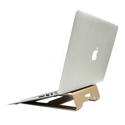 Premium LAPTOP Stand Solid Aluminum Alloy Holder Macbook PC Samsung HP Sony ASUS