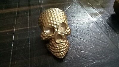 Antique Style Brass Skull Head Handle For Designer Walking Cane Stick Style Gift