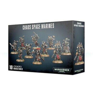 Chaos Space Marines Games Workshop Brand New 99120102098