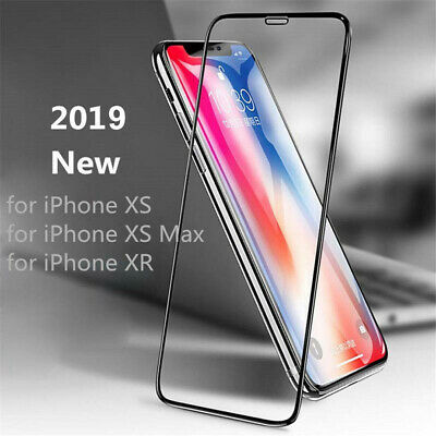 3D Tempered Glass Curved Full Cover Screen Protector For iPhone XS/MAX/8/7/Plus
