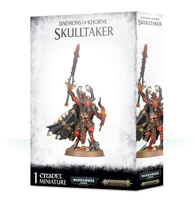 Daemons Of Khorne Skulltaker Games Workshop Brand New 99129915051