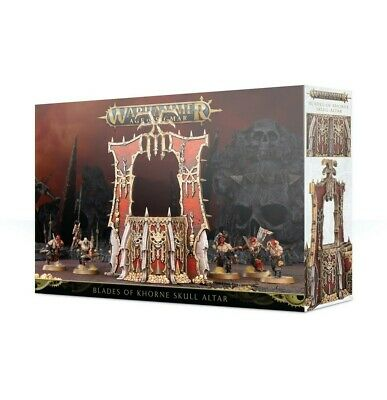 Blades Of Khorne: Skull Altar Games Workshop Brand New 99120201083